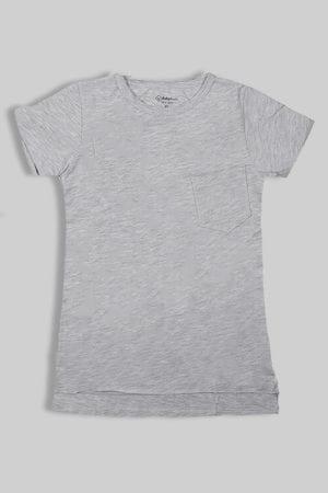 חולצת ביסייק אפורה