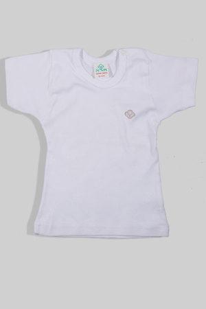 חולצת קיץ לבנה עם תיקתק
