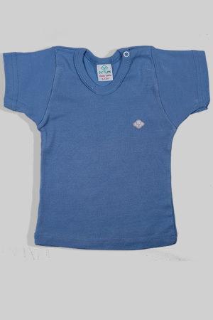 חולצת קיץ כחולה עם תיקתק