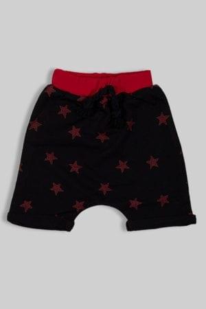 מכנסיים כוכבים אדום לתינוק ולילד