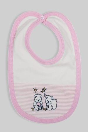 סינר לתינוק פסים סגול
