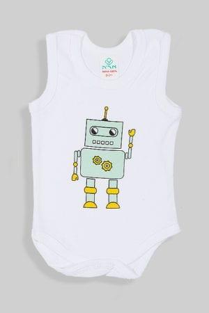 בגד גוף גופייה - רובוט