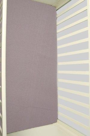 סדין אפור - מיטת תינוק/מיטת מעבר   עריסה   עגלה   לול