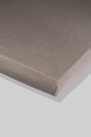 סדין אפור - מיטת תינוק/מיטת מעבר | עריסה | עגלה | לול
