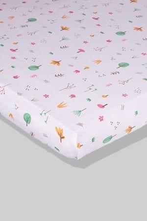 סדין לתינוק - יער - מיטת תינוק/מיטת מעבר | עריסה