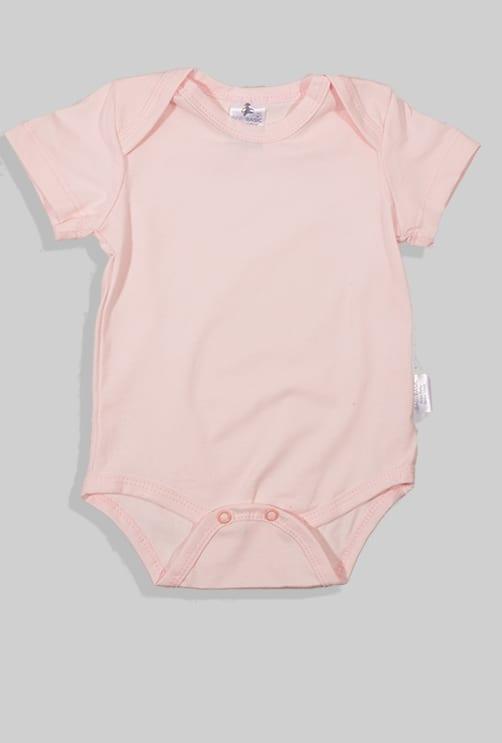 רביעיית בגדי גוף שרוול קצר - דונאטס שועל קאפקייקס חלק (3 חודשים - שנתיים)
