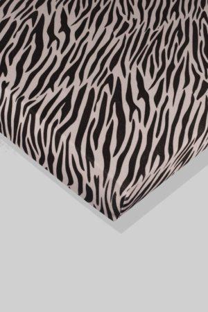 סדין לתינוק - זברה - מיטת תינוק/מיטת מעבר | עריסה